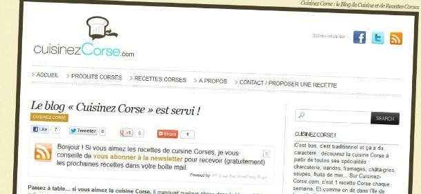 Cuisinez Corse