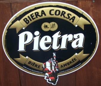 La Pietra, bière Corse ambrée à la châtaigne