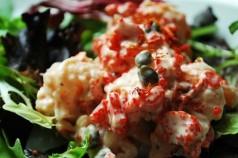 Recette de la salade de langoustes