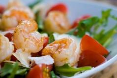 Recette des crevettes flambées au muscat Corse