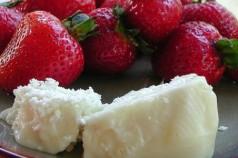 Recette des fraises au Brocciu