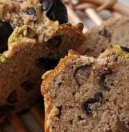 Recette du cake à la farine de châtaigne