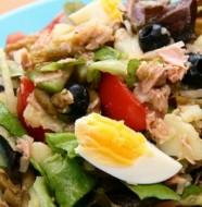 Recette de la salade bastiaise