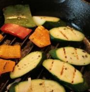 Recette de la salade de légumes grillés aux figatelli